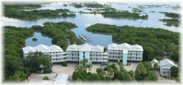 Natures Landing Condominiums in Cedar Key Florida