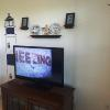 A103 large flatscreen tv with dish network